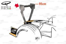 Передняя часть Arrows A22, Гран При Монако