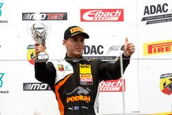 Podium: third place Joseph Mawson, Van Amersfoort Racing