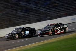 Ryan Newman, Richard Childress Racing Chevrolet, Josh Wise, The Motorsports Group Chevrolet