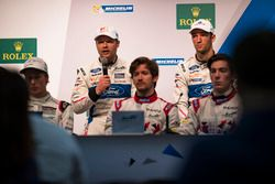 Press Conference with #67 Ford Chip Ganassi Racing Team UK Ford GT: Andy Priaulx, Harry Tincknell