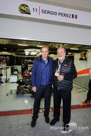 Carlos Slim Sr, Telmex en America Movil met Sahara Force India F1 Team en Jean-Frederic Dufour, Role