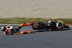 Lorenzo Baldassarri, Forward Racing, crash
