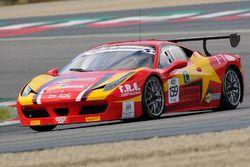 Ferrari 458 Italia-GTCup #159, Zanardini-Sauto, Master KR Racing