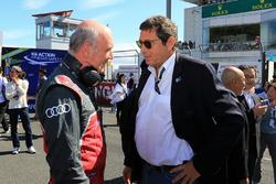 Dr. Wolfgang Ullrich, Audi Sport, Motorsportchef; Gerard Neveu, WEC-Boss