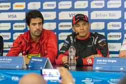 Lucas di Grassi, ABT Schaeffler Audi Sport et Stéphane Sarrazin, Venturi