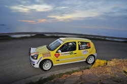 Moreno Cambiaghi, Lara Cere, Renault Clio RS N N3 #53
