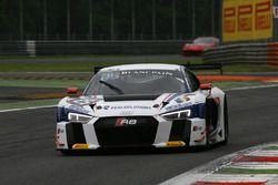 #25 Sainteloc Racing, Audi R8 LMS: Christian Kelders, Marc Rostan, Marco Bonanomi