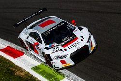 #75 ISR, Audi R8 LMS: Filip Salaquarda, Frank Stippler, Marlon Stockinger