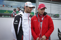 Mark Webber, Porsche Team, Andre Lotterer, Audi Sport Team