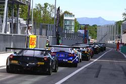 #66 Black Pearl Racing, Ferrari 458 Italia GT3: Steve Parrow, Alexander Mattschull, Daniel Keilwitz