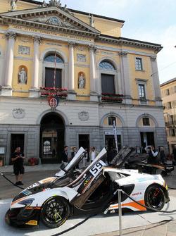 Alex Fontana, McLaren 650S GT3, Lugano
