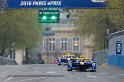 Sébastien Buemi, Renault e.Dams y Nicolas Prost, Renault e.Dams