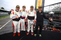 Winner AM-Class: #87 AKKA ASP, Mercedes-AMG GT3: Jean-Luc Beaubelique, Maurice Ricci, Gilles Vannelet