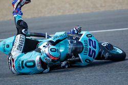 Danny Kent, Leopard Racing crash