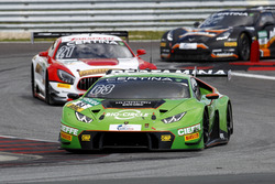 #63 GRT Grasser-Racing-Team, Lamborghini Huracán GT3: Rolf Ineichen, Christian Engelhart