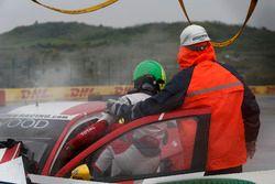 Chrash Grégoire Demoustier, Sébastien Loeb Racing, Citroën C-Elysée WTCC