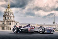 Visuel de Jean-Eric Vergne, DS Virgin Racing, à Paris