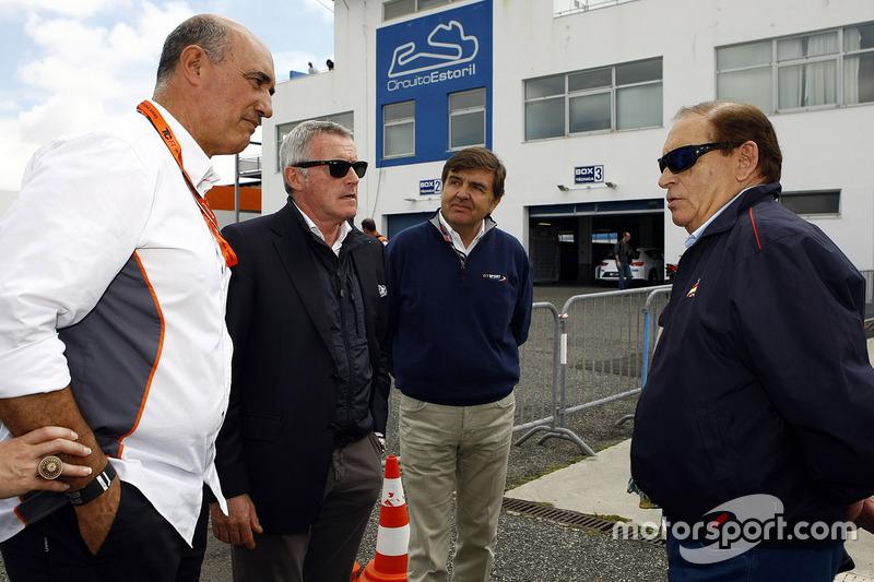 Jamie Puig, Seat Motorsport; Marcello Lotti, CEO TCR
