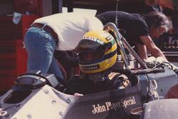 Айртон Сенна, Lotus 98T-Renault