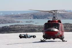 Di Grassi pilota un Fórmula E en el Ártico