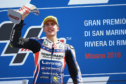 Race winner Lorenzo Baldassarri, Forward Racing