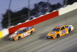 Matt Kenseth, Joe Gibbs Racing, Toyota; Matt DiBenedetto, BK Racing, Toyota