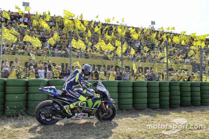4. Segundo lugar Valentino Rossi, Yamaha Factory Racing