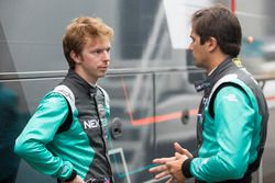 Oliver Turvey, NEXTEV TCR Formula E Team; Nelson Piquet Jr., NEXTEV TCR Formula E Team