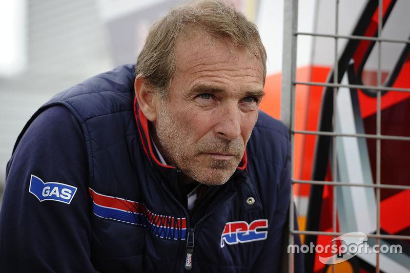 Livio Suppo, Team Principal of the Repsol Honda Team