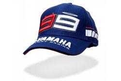 Gorra azul Jorge Lorenzo Yamaha 2016