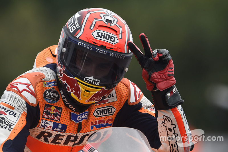 Il terzo classificato Marc Marquez, Repsol Honda Team