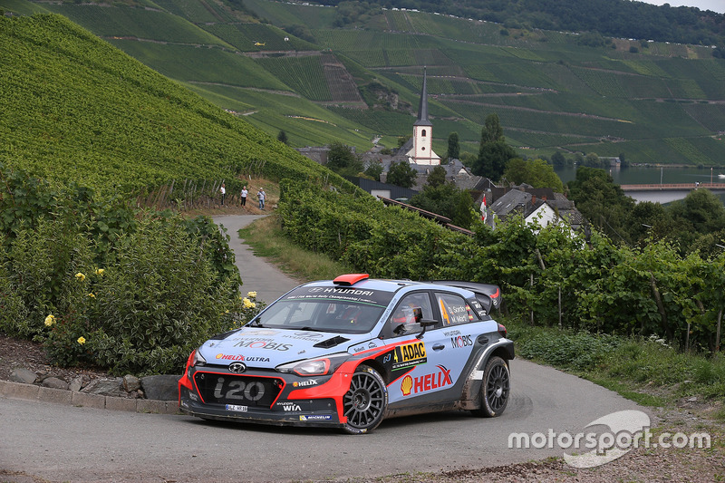 2016: Daniel Sordo, Marc Marti, Hyundai i20 WRC, Hyundai Motorsport