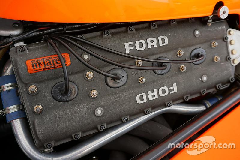 El McLaren M23 de Emerson Fittipaldi