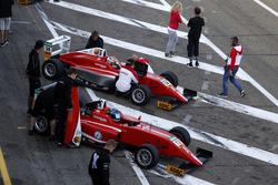Yannik Brandt, Lechner Racing; Thomas Preining, Lechner Racing