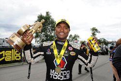 Seattle: Top Fuel winner Antron Brown