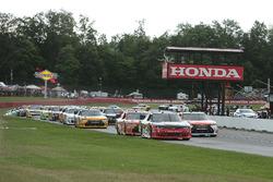 Start: Sam Hornish Jr., Richard Childress Racing, Chevrolet führt