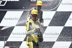 Podium: Alex Rins, Paginas Amarillas HP 40, Kalex