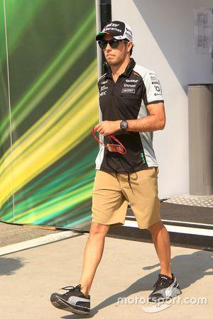 Серхио Перес, Sahara Force India F1 Team