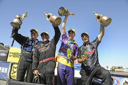 John Force, J.R. Todd, LE Tonglet, Greg Anderson
