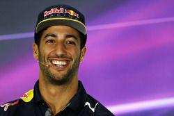 Press conference: third position Daniel Ricciardo, Red Bull Racing RB12