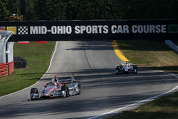 Will Power, Team Penske, Chevrolet; Helio Castroneves, Team Penske, Chevrolet