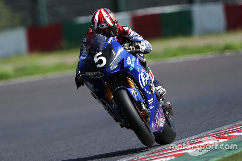 PJ Jacobsen (#5 F.C.C. TSR Honda, Honda)