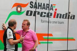 Robert Fernley, Sahara fuerza a la India F1 equipo Subdirector con Jonathan Palmer