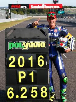 Ganador de la pole #21 Yamaha Factory Racing Team: Pol Espargaró