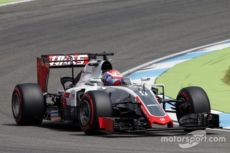 20: Romain Grosjean, Haas F1 Team VF-16 (5 posiciones de penalización)