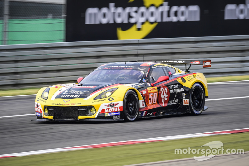 5. LMGTE-Am: #50 Larbre Competition, Corvette C7.R