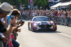 #89 Mercedes-AMG GT3在斯帕巡游