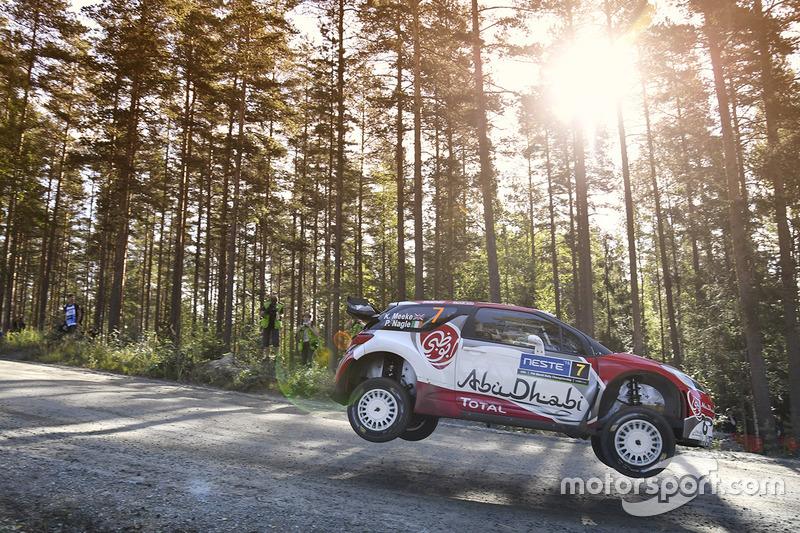 1. Rally de Finlandia 2016: 126,62 km/h