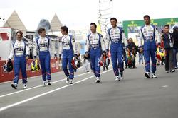 #36 Signatech Alpine A460: Gustavo Menezes, Nicolas Lapierre, Stéphane Richelmi; #35 Baxi DC Racing
