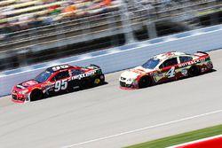 Michael McDowell, Circle Sport Leavine Family Racing, Kevin Harvick, Stewart-Haas Racing Chevrolet